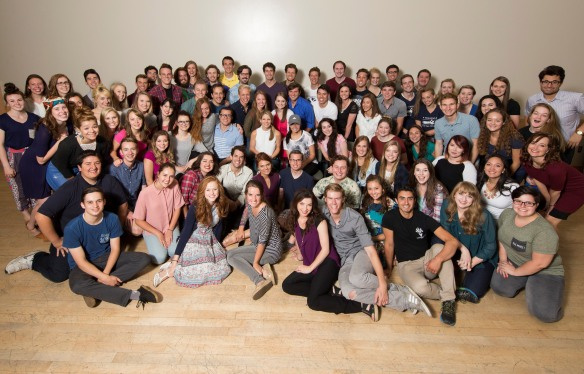 Kelli OHara group photo 9.3.15