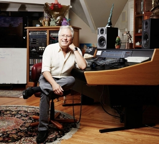 Alan Menken, award winning music composer, inside of his home office, North Salem, New York, July 12th, 2016. Yvonne Albinowski/For New York Observer