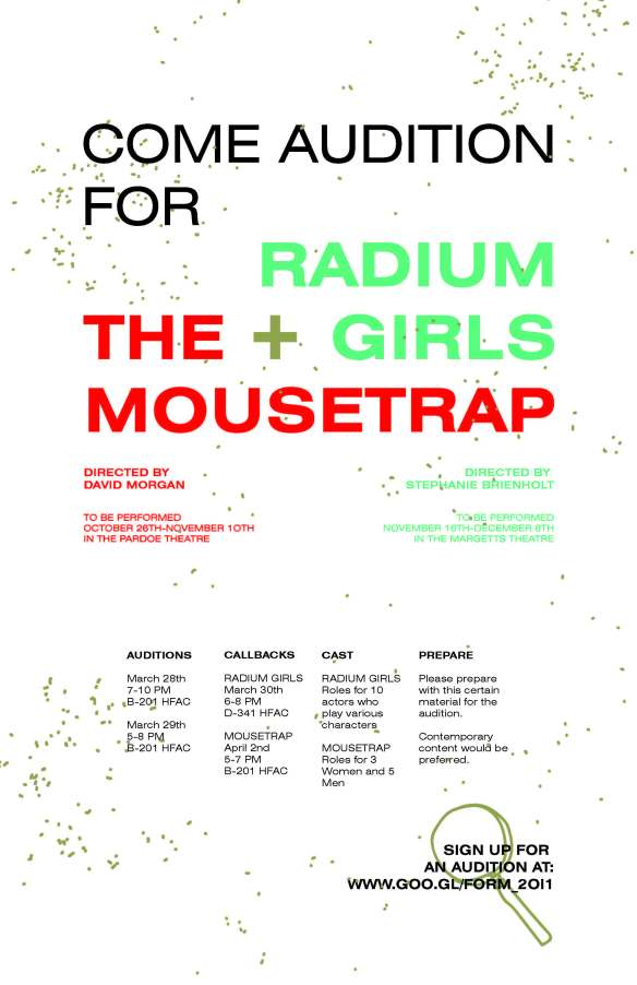 The Mousetrap and Radium Girls copy