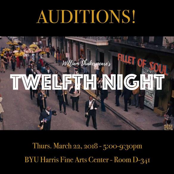twelfth night audition